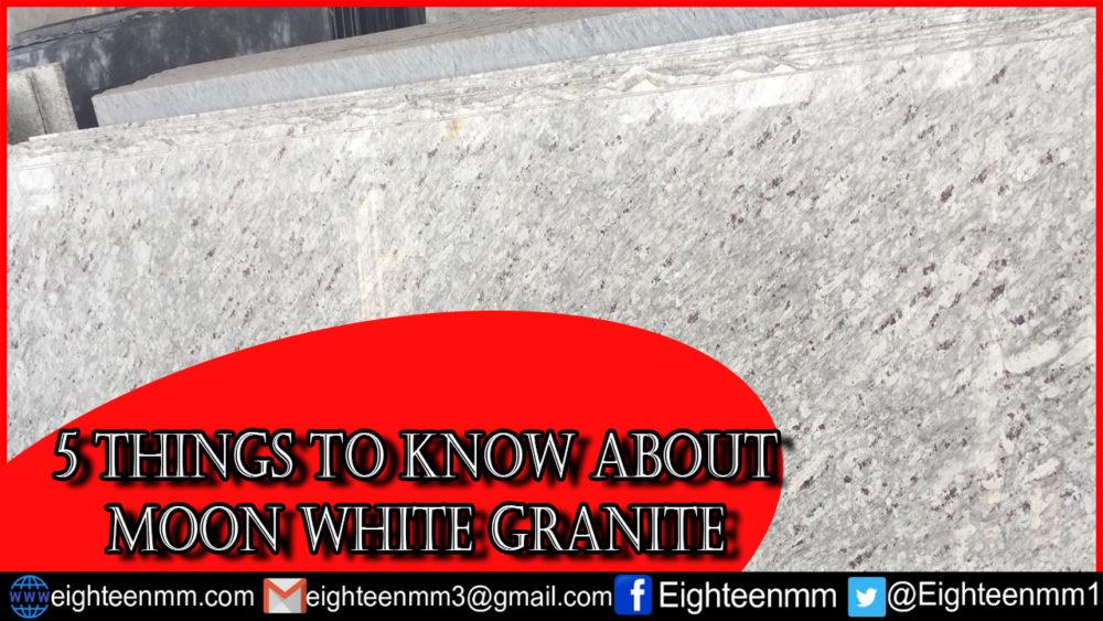moon white granite price information